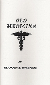 "OLD MEDICINE This is a grouping of tales of rural medicine in the early days. It is interesting, educational, and funny, sometimes all at the same times. It also features a list of short biographies of my ""Old People"", those from whom I learned so…"